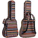 CAHAYA Bohemian Gitarrentasche Gig Bag 15,6mm Gepolsterte Wasserdicht Gitarrenhülle für...