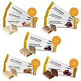 Supplify Proteinriegel (Mix Box) - Low Carb Protein Riegel ohne Zucker-Zusatz - glutenfreier Protein...