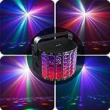 WohnaccessoiresParty Bühnenlichter LED Bühnenbeleuchtung RGB Party Lichter Tonaktivierte...