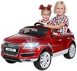 Actionbikes Motors Kinder Elektroauto Audi Q7 4L Lackiert - Lizenziert - 2 x 45 Watt Motor - 2,4 Ghz...