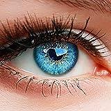 ELFENWALD farbige Kontaktlinsen ohne Strke, Produktreihe INTENSE', ein paar weiche Farblinsen OHNE...