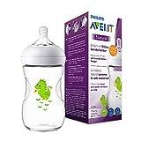 Philips Avent Natural Flasche SCF070/24, 260 ml, naturnahes Trinkverhalten, Anti-Kolik-System,...