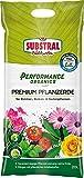 Substral Performance Organics Pflanzerde Premium Blumenerde, Hochwertige Bio Erde für alle Zimmer-,...