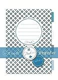 SinnWunder® Register, Index-Reiter bzw. Divider für Terminplaner und Ringplaner Design PureSinn -...
