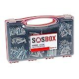 fischer SOS-Box mit Spreizdübel S und Universaldübel FU - Für zahlreiche Baustoffe und...