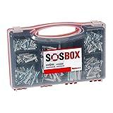 fischer SOS-Box mit Spreizdbel S und Universaldbel FU - Fr zahlreiche Baustoffe und vielfltige...