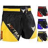 Mytra Fusion Pro Boxshorts Kampfshorts Boxshorts Boxshorts Boxhose, schwarz/goldfarben, XL