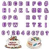 Guanici Buchstaben Ausstechen Fondant Zahlen Ausstecher Alphabet Buchstaben ausstechformen Ausstech...