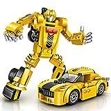 Baustein Roboter Spielzeug, joylink Gebäude Konstruktionsspielzeug Robot Kits STEM Spielzeugen...