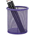 JoyRolly Stifthalter Mesh Round Vase Bleistift Topf Make-up Pinsel Container Office Supplies...