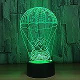 WLWIN 3D Nachtlicht. Dimmbare RGB-Farbwechselmodi für Kinder, Baby, Schlafzimmer, Büro und Camping...