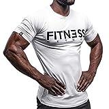 Fitness Method, Sport T-Shirt Herren, Slim-Fit Shirt bequem & hochwertig Männer, Rundhals &...