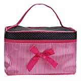 OMELODY Fashion Make Up Bag, Kulturbeutel Ideal for Reisen, Urlaub Fitness Camping Bad und Party...
