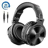 Bluetooth Kopfhrer Over Ear OneOdio Geschlossene Studio Kopfhrer Kabellos mit 30 Stunden Spielzeit...