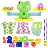 Sirecal Balance Mathe Spielzeug, Mathe Waage Spielzeug Frosch, Lernen Montessori Lernspielzeug...