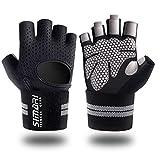 SIMARI Trainingshandschuhe Männer Frauen volle Finger Gewichtheben Handschuhe mit Handgelenk...