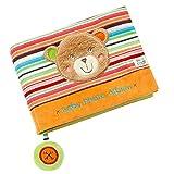 Fehn 091410 Fotobuch Teddy – Weiches Soft-Bilderbuch für 6 Fotos á 10x15 cm – Spielerisch...
