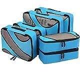 Eono by Amazon - 6 Teilige Kleidertaschen, Packing Cubes, Verpackungswürfel, Packtaschen Set für...