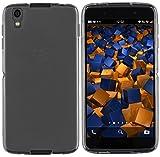 mumbi Hlle kompatibel mit BlackBerry DTEK50 Handy Case Handyhlle, transparent schwarz