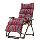 YLCJ Chaiselongue, faltbar, mit Rückenlehne, Strandstuhl, Büro, Schwangere Frau, Mittagspause und...