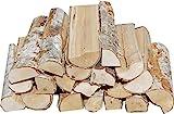 Hoyo Technology GmbH 30 Kg Birke 25 cm - Brennholz Kaminholz Feuerholz Lagerfeuer Holz...