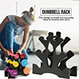 Chalkalon 3-Tier Hantel Lagerregal Ständer Home Hand Gewicht Tower Stand Gym Organisation Wonderful