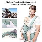 Outtybrave Babytrage, ergonomische Babytrage mit Hüftsitz/Baumwolle, leicht und...