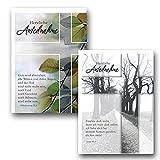 Kollektion Reuter 10er-Pack Trauerkarten mit Briefumschlag, mit Bibelvers, 85-0047