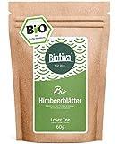 Himbeerblätter-Tee Bio 60g - sehr große Blätter - Reicht für 40 Tassen - von Hebammen empfohlen...