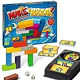 Ravensburger 26750 Make 'n' Break - Gesellschaftsspiel für die ganze Familie mit Bausteinen, Spiel...