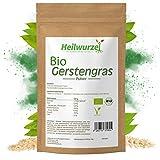 Bio Gerstengraspulver | 250g, 500g, 1kg Gerstengras Pulver | Rohkostqualität | Gerstengrassaft aus...
