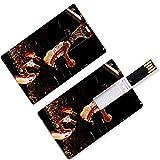 USB-Flash-Daumenantriebe Dywane Miami Basketball Player 3 Kreditkartenform Flash Wade Hitze Super...