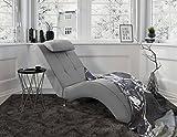 myHomery Relaxliege Tanja - Liege zum Entspannen - Relaxsessel fürs Wohnzimmer - Moderne Recamiere...