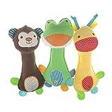 MUROAD 3 Stück Haustier Hundespielzeug,Hunde Spielzeug für Kleine und mittelgroße Welpen...