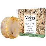 Meina - Bio Haarseife Naturkosmetik für fettiges Haar, Vegan Shampoo Bar mit Teebaum gegen...