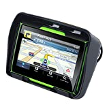 TOOGOO Aktualisiert 256M Ram 8 Gb Flash 4,3 Zoll Moto GPS Navigator Wasserdichtes Bluetooth Motorrad...