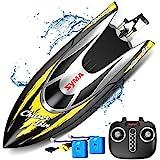SYMA RC Boot Schnell Boot 2.4GHz Fernbedienung Spielzeug High-Speed Racing Boot mit Starke Kraft fr...