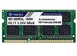 Timetec Hynix IC 8GB DDR3L 1600MHz PC3-12800 Unbuffered Non-ECC 1.35V CL11 2Rx8 Dual Rank 204 Pin...