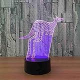 3D-Led-Illusionslampe Usb Power Bank 3D-Led-Nachtlicht Batteriebetriebene Led-Kindertischlampen 7...