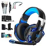 OCDAY Gaming Headset, Headset für PS4 PC Xbox One, Gaming Kopfhörer 3.5mm Surround Sound...