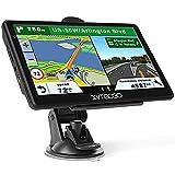 Navigationsgerät,GPS Navi Navigation-Auto LKW PKW 7 Zoll Navigationsgerät 8G 256M Sprachführung...