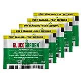 GLUCOGARDEN Universaldünger für Rasen und Zimmerpflanzen, Innovativer NPK 5-13-5 Mikrogranulat...