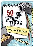 moses. 50 streng geheime Tipps für Detektive | Kinderbeschäftigung | Kartenset