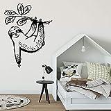 zqyjhkou Personality Slogan Cartoon Animation Lion Vinyl Wall Decal Boy Child Teen Bedroom Movable...