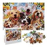 CYC Puzzle 1000 Teile,Puzzle Für Erwachsene,Animal Puzzle Farbenfrohes...