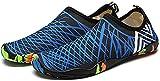 N-K Wasserschuhe Marine Schuhe Amphibien Schnorcheln Strandschuhe Leicht Atmungsaktiv Yoga Surfen...