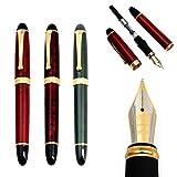 Siqimi Luxus Füllfederhalter JINHAO X450 Carven B/Medium Feder Büro Bussiness Schreiben Supplies...