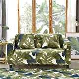 DAMUZHI Universal Sofabezug Stretch Sofa Möbelbezug Sofatuch 1/2/3/4 Sitz 4-Sitzer 235-300Cm Farbe...