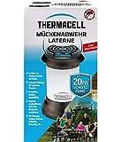 Thermacell Mückenabwehr Laterne, Mückenschutz mit sanfter LED Umgebungsbeleuchtung, dekorativ und...