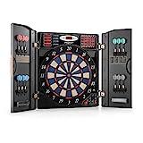 OneConcept Masterdarter - Dartautomat, elektronische Dartscheibe, E-Darts, Spielcomputer, bis zu 16...